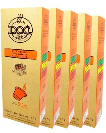 D.O.C 100% Arábica Blend em Cápsulas Nespresso ® (50 unidades)